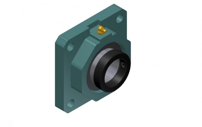 Four-Bolt Flange Bearing