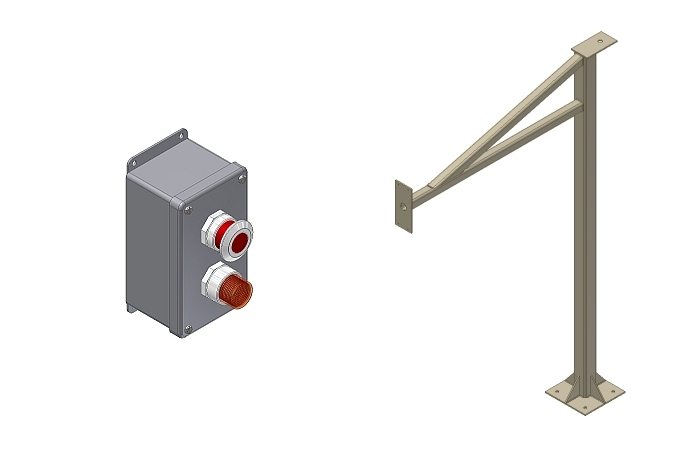 Control Station Enclosures and Stanchions