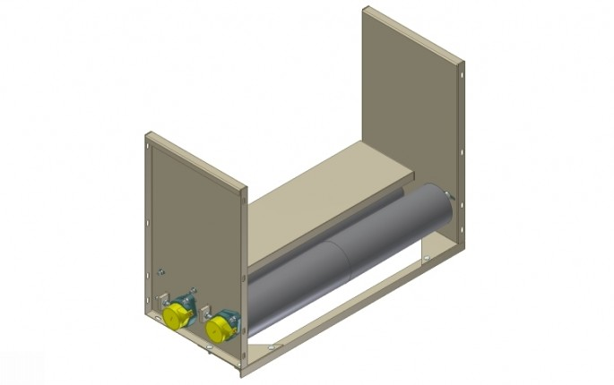 End Bracket Assemblies with Side Guards