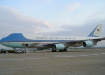 Impressive Air Force One Delivers President Obama to North Texas