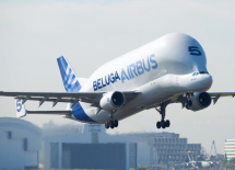 Airbus Beluga Taking Off