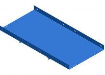 Powder Coated Components - Sky Blue