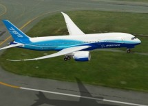 Boeing 787 Dreamliner Taking Off