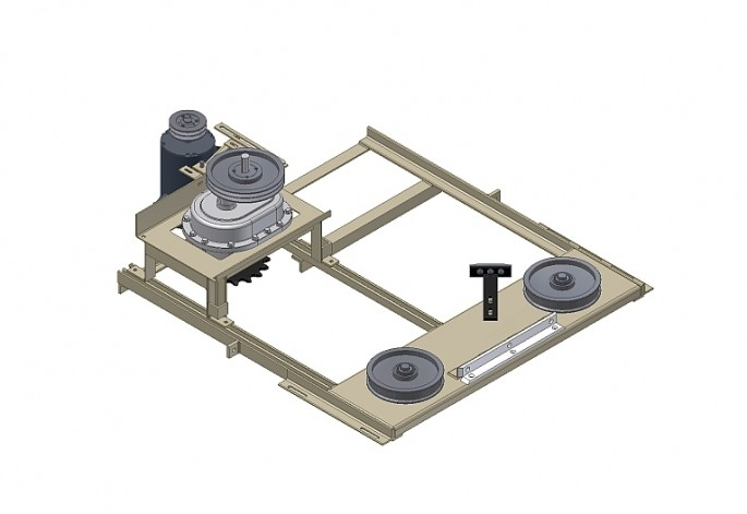Custom Extended Drive Base Assembly
