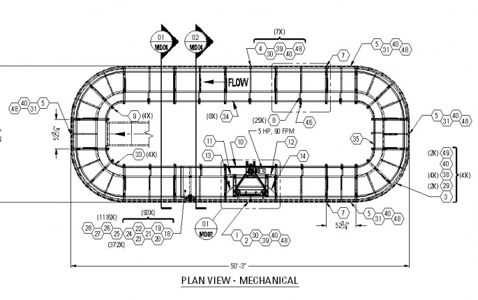 FLL Plan View