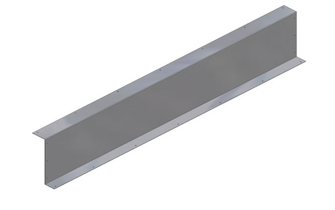 Stainless Steel Back Guard for Ticket Counter Conveyor