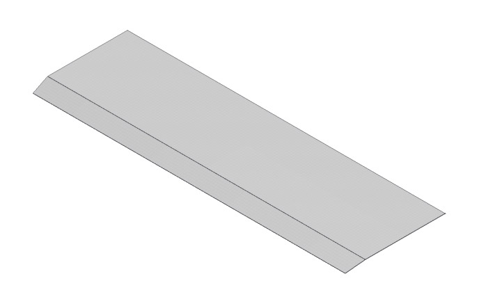 Stainless Steel Pallet - Trailing Edge