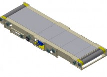 Ticket Counter Load Conveyor Shown with Filler Plate