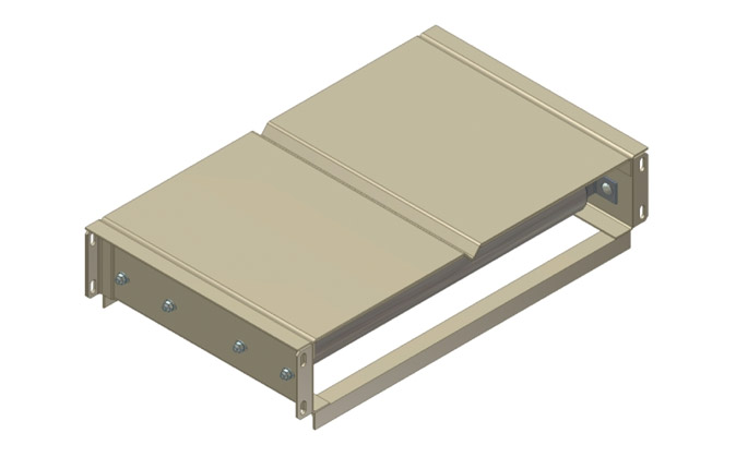 V-Grooved Bed Assembly