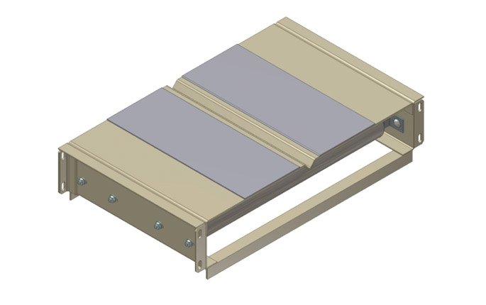 V-Grooved Bed Assembly with Filler Plate